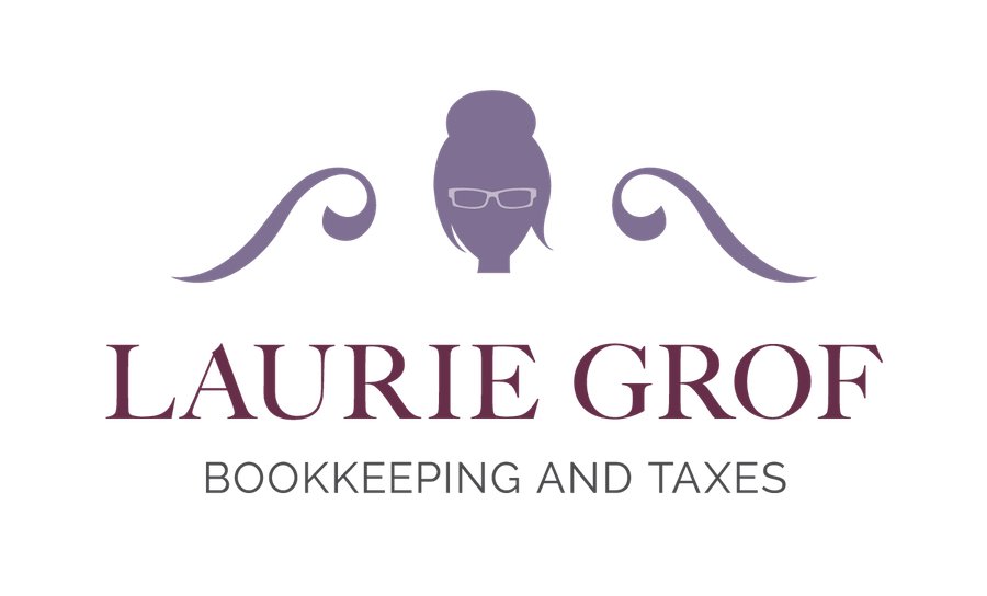 Logo: Laurie Grof Bookkeeping