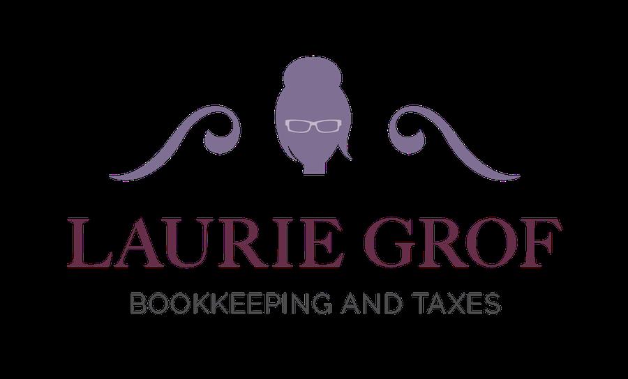 Logo: Laurie Grof Bookkeeping