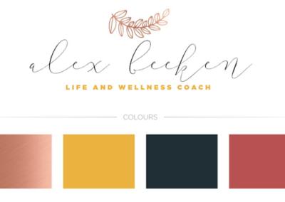 Alex Beekan Brand Board