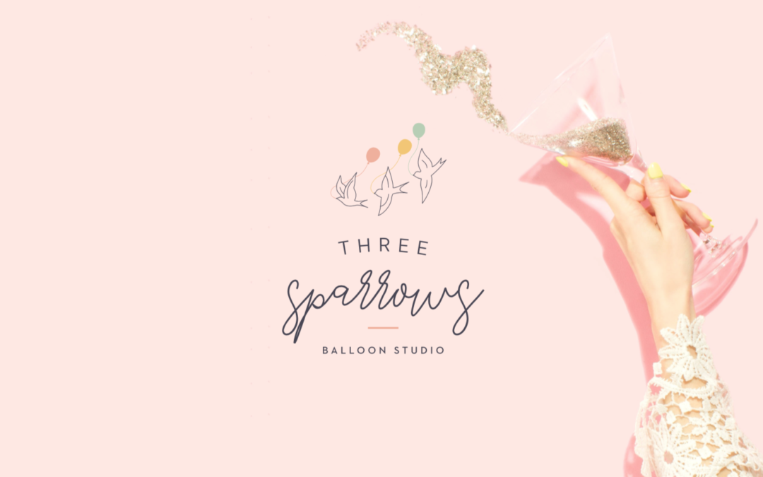 Three Sparrows Balloon Studio – Branding