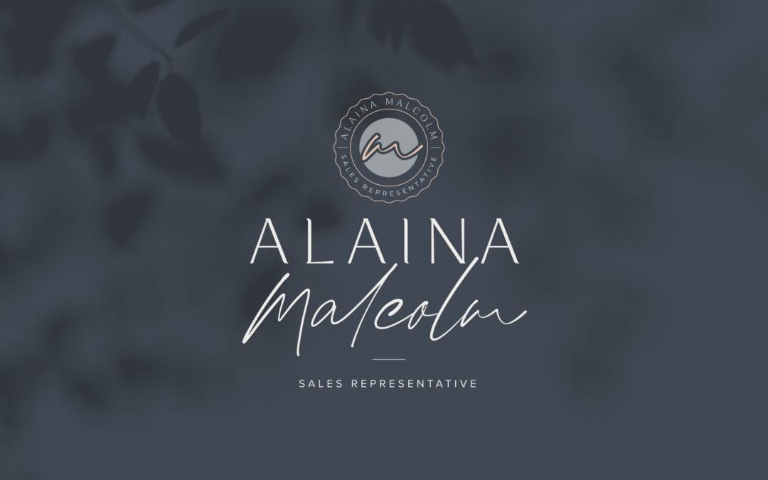 Alaina Malcolm Realtor – Branding