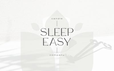 Sleep Easy Candle Company – Branding
